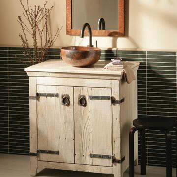 """Native Trails VNB30 30"""" Americana Vanity with Handcrafted Design, Recycled Wood, Large Storage Compartment and Finished in"""