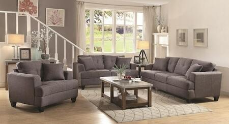 Coaster 5051753PC Samuel Living Room Sets