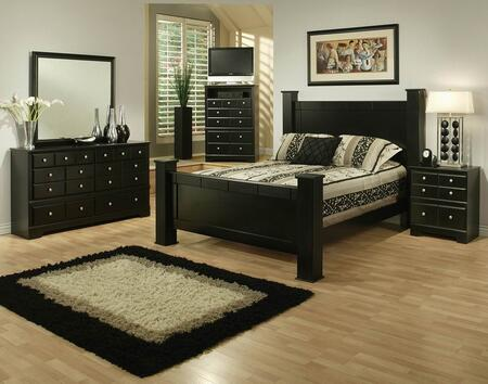 Sandberg 334G Elena King Bedroom Sets