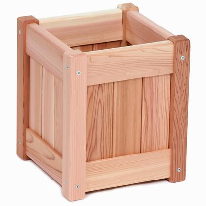 All Things Cedar PLXX Planter Box with Mortised Wall Panels, Removable Bottom, Sanded Finish and Hand Crafted