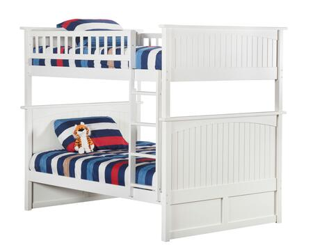 Atlantic Furniture AB5950 Nantucket Bunk Bed Full Over Full