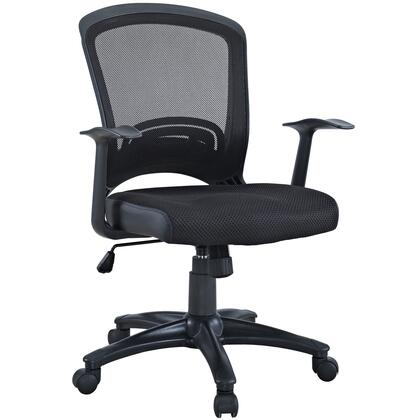 "Modway EEI758BLK 25"" Adjustable Contemporary Office Chair"