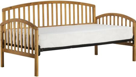 Hillsdale Furniture 1115 Carolina Daybed with Suspension Deck, Slat Frame, Solid Hardwood and Pine Construction in