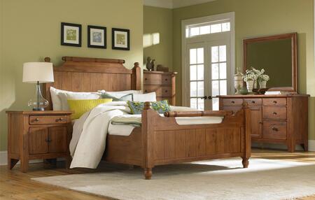 Broyhill 4397KFBNDM Attic Heirlooms King Bedroom Sets