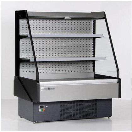 Hydra-Kool KGLOFxR Grab-N-Go Low Profile Case with Cooling BTU, LED Lighting, in Black