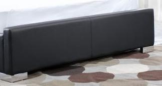 Diamond Sofa VALENTINOBEDFTBDB Valentino Collection Footboard: