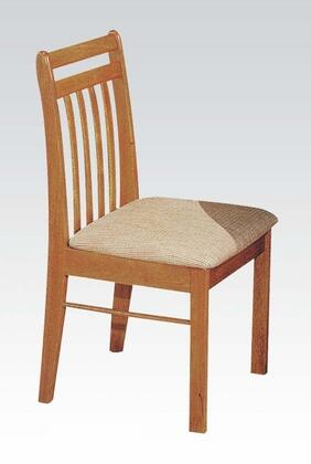 Acme Furniture 02976 Copenhagen Series Transitional Fabric Wood Frame Dining Room Chair