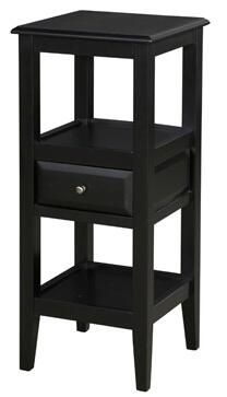 Powell 979269 Sedona Series Contemporary Square End Table