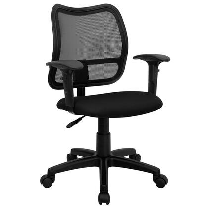 "Flash Furniture WLA277BKAGG 22"" Contemporary Office Chair"