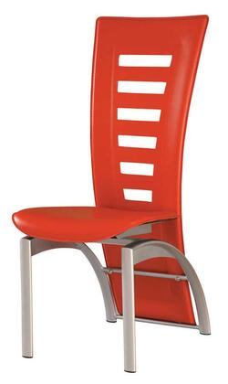 """Global Furniture USA 290DC Modern 18"""" Dining Chair with Silver Finish"""