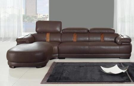 Chintaly OKLAHOMA2PIECESECTIONAL Oklahoma Sectional Sofas