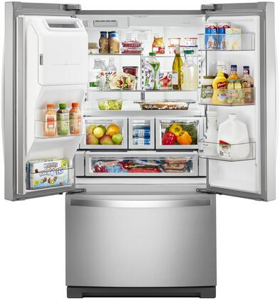 Mail In Rebate Offers >> Whirlpool WRF757SDHZ 36 Inch Stainless steel French Door Refrigerator with 27 cu. ft. Capacity ...
