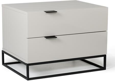 VIG Furniture VGCNHERANS Modrest Hera Series Rectangular Wood Night Stand