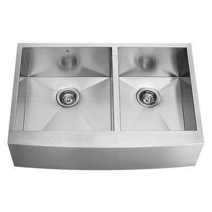 Vigo VG3620BL Stainless Steel Kitchen Sink