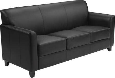 Flash Furniture BT8273GG HERCULES Diplomat Series Leather Sofa
