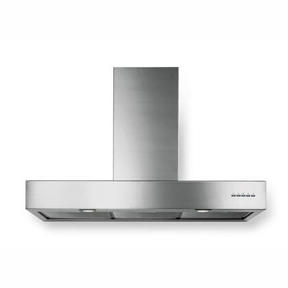 "Futuro Futuro WLLINEARE X"" Lineare Series Range Hood offer 940 CFM, 4-Speed Electronic Controls, Delayed Shut-Off, Filter Cleaning Reminder, and in Stainless Steel"