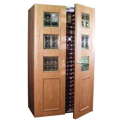 "Vinotemp VINO700EMPIREBRB 51"" Wine Cooler"