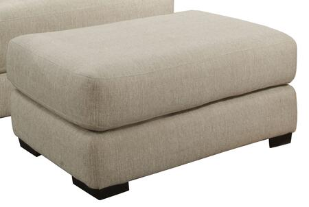 "Jackson Furniture Ava Collection 4498-10- 45"" Ottoman with Block Feet, Piped Stitching and Chenille Fabric Upholstery in"