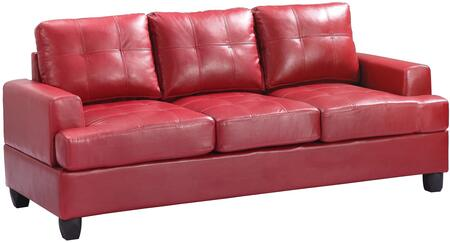 Glory Furniture G589AS  Stationary Bycast Leather Sofa
