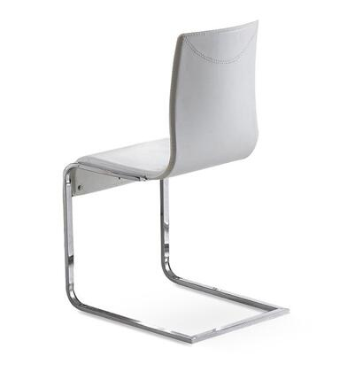 VIG Furniture VGLEY022 Modern Leather Metal Frame Dining Room Chair