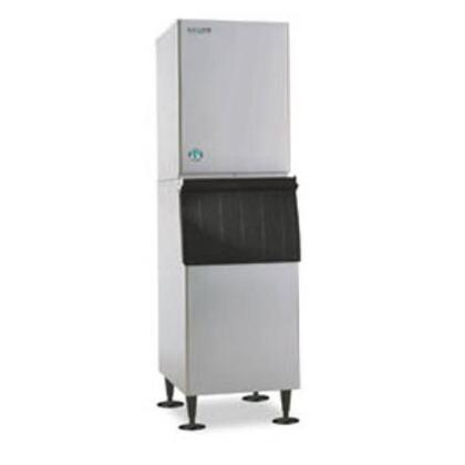 """Hoshizaki KM-320MxH 22"""" Stainless Steel Modular Ice Maker with Crescent Cubes  and 115V,"""