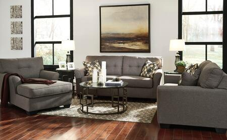 Milo Italia MI8120SLCHSLAT Deangelo Living Room Sets