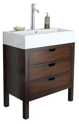 Acme Furniture 90000 Cherry Bathroom Sink