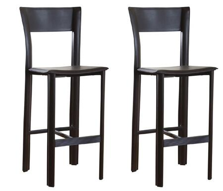 American Heritage 130752MLL11 Alto Series Residential Bonded Leather Upholstered Bar Stool