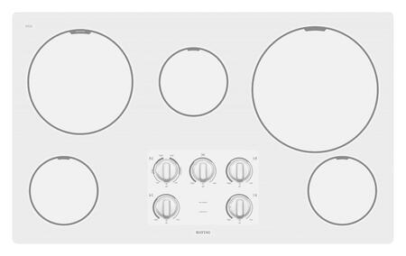 Maytag MEC7536WW  Electric Cooktop