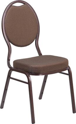 Flash Furniture FDC04COPPER008T02GG Hercules Series Fabric Metal Frame Dining Room Chair