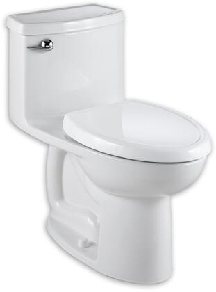 American Standard Cadet Compact 3 Flowise 1.28 GPF Elongated 1 Piece Toilet with Seat 2403.128