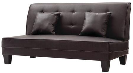 Glory Furniture G400S Newbury Series Faux Leather Stationary Loveseat