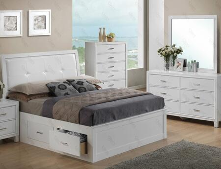 Glory Furniture G1275BQSBDM G1275 Queen Bedroom Sets