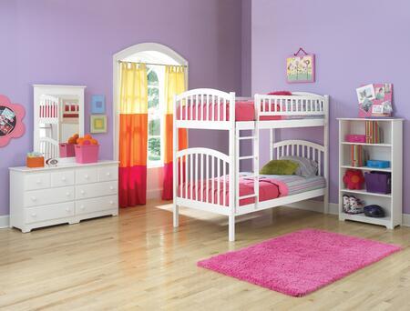 Atlantic Furniture RICTTWH Richmond Series  Bed