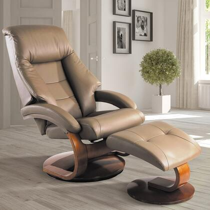 Mac Motion 58LO324103 Oslo Series Transitional Leather  Recliners