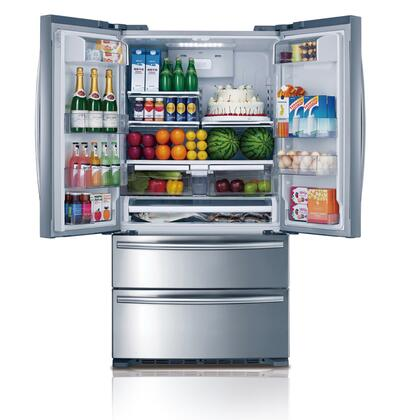 Midea Hc767we 36 Inch French Door Refrigerator With 20 8