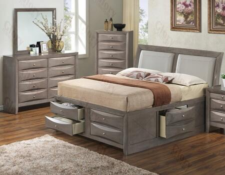 Glory Furniture G1505IQSB4DM G1505 Queen Bedroom Sets