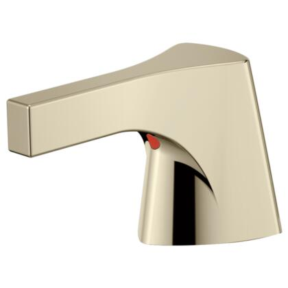 Zura  H274PN Delta Zura: Bidet Handle/ Widespread Handle in Polished Nickel