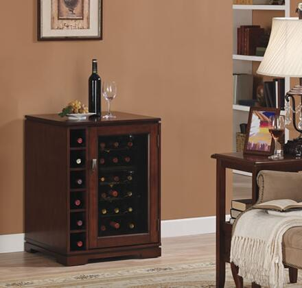 "Tresanti DC9416C2751818 23.12"" Freestanding Wine Cooler, in Cherry"