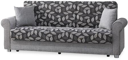 "Casamode Rio Grande Collection RIO GRANDE SOFABED 86"" Sofa Bed with Chenille Fabric Upholstery, Rolled Arms and Under Seat Storage in"