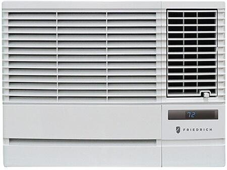Friedrich EPxG33B Chill Window Air Conditioner with Heat, Stale Air Exhaust, Slideout Chassis, Auto Air Sweep Swing Louvers and 4-Way Air Flow Control in White