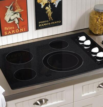 GE JP356WMWW CleanDesign Series Electric Cooktop