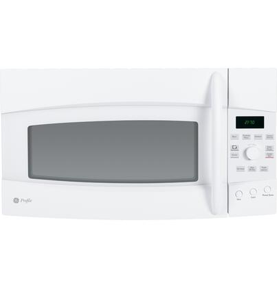 GE PVM2170DRWW 2.1 cu. ft. Capacity Over the Range Microwave Oven