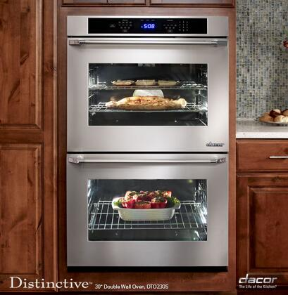 "Dacor DTO230W 30"" Double Wall Oven, in White"