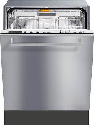 "Miele PG8083SCVI 24"" Fully Integrated Dishwasher with Hidden Control Panel, 9 Wash Programs, 3D Cutlery Tray, 16 Place Settings, Built-In Water Softener, 48 dBA Quiet Rating and Delay Start: Panel Ready"