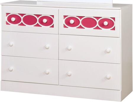 Furniture of America CM7853PKD Cammi Series  Dresser