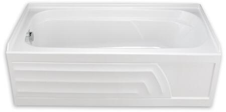 American Standard Colony 60 x 30 Bathtub with Integral Apron 2740 (4)
