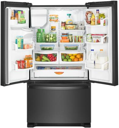 Whirlpool Wrf555sdhv 36 Inch French Door Refrigerator In