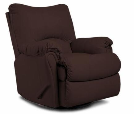 Lane Furniture 2053186598740 Alpine Series Transitional Leather Wood Frame  Recliners
