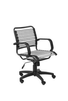 """Euro Style 02572SIL 25"""" Contemporary Office Chair"""